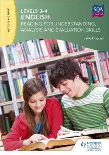 Levels 3-4 English: Reading for Understanding, Analysis and Evaluation Skills, Paperback Book