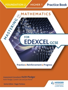 Mastering Mathematics Edexcel GCSE Practice Book: Foundation 2/Higher 1, Paperback Book
