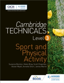Cambridge Technicals Level 3 Sport and Physical Activity, Paperback / softback Book