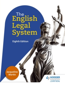 English Legal System Eighth Edition, Paperback Book