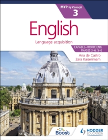 English for the IB MYP 3, Paperback / softback Book