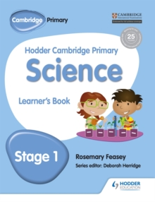 Hodder Cambridge Primary Science Learner's Book 1, Paperback / softback Book