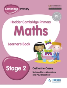 Hodder Cambridge Primary Maths Learner's Book 2, Paperback / softback Book