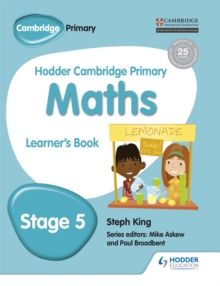 Hodder Cambridge Primary Maths Learner's Book 5, Paperback Book