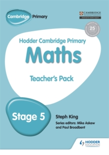Hodder Cambridge Primary Maths Teacher's Pack 5, Paperback Book