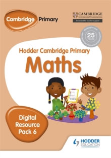 Hodder Cambridge Primary Maths CD-ROM Digital Resource Pack 6, Other digital Book