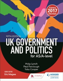 UK Government and Politics for AS/A-level (Fifth Edition), Paperback / softback Book
