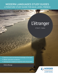 Modern Languages Study Guides: L'Etranger : Literature Study Guide for AS/A-Level French, Paperback Book