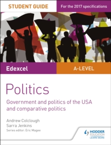 Edexcel A-level Politics Student Guide 4: Government and Politics of the USA, Paperback Book