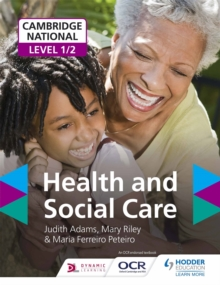 Cambridge National Level 1/2 Health and Social Care, Paperback / softback Book