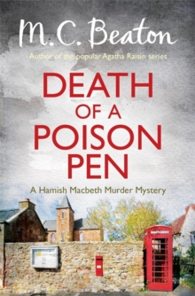 Death of a Poison Pen, Paperback Book