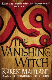 The Vanishing Witch : A dark historical tale of witchcraft and rebellion, Hardback Book
