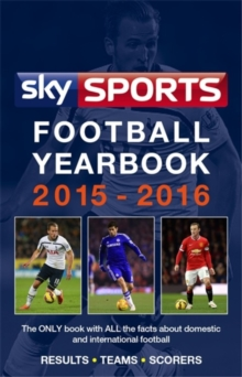 Sky Sports Football Yearbook 2015-2016, Paperback Book