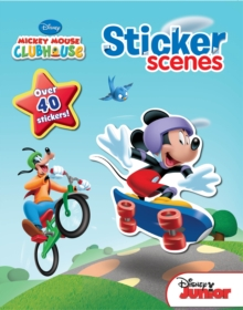 Disney Mickey Mouse Club Sticker Scenes : Over 40 stickers!, Paperback Book
