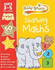 Gold Stars Starting Maths Ages 3-5 Pre-school, Mixed media product Book