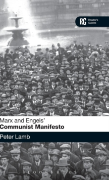 Marx and Engels 'Communist Manifesto' : A Reader's Guide, Hardback Book
