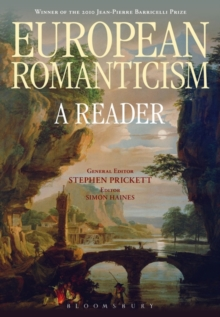 European Romanticism : A Reader, Paperback / softback Book