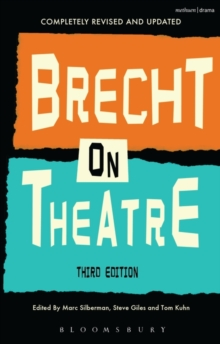 Brecht On Theatre, Hardback Book