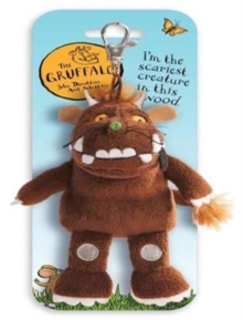 Gruffalo Key Clip Mini Plush 4.5 Inches,  Book