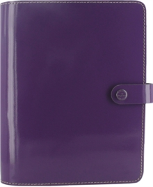 FILOFAX A5 THE ORIGINAL PATENT PURPLE OR,  Book