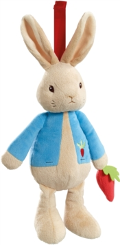 PETER RABBIT MUSICAL SOFT TOY,  Book