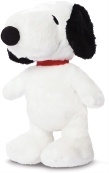 Snoopy 7.5 Inch Soft Toy,  Book