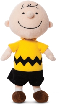 Charlie Brown 10 Inch Soft Toy,  Book
