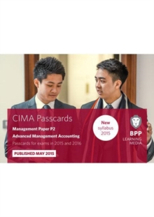 CIMA P2 Advanced Management Accounting : Passcards, Spiral bound Book