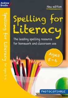 Spelling for Literacy for ages 5-6, Paperback / softback Book