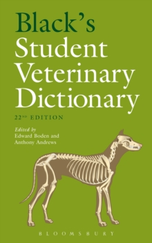 Black's Student Veterinary Dictionary, Paperback Book