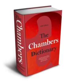 The Chambers Dictionary (13th Edition), Hardback Book