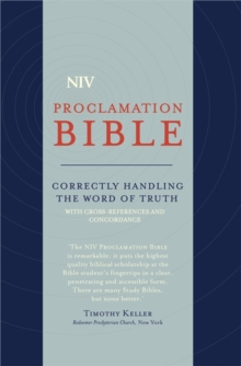 NIV Compact Proclamation Bible : Soft-tone, Paperback / softback Book