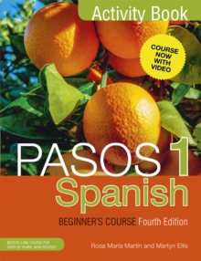 Pasos 1 Spanish Beginner's Course (Fourth Edition) : Activity book, Paperback / softback Book