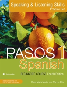 Pasos 1 Spanish Beginner's Course (Fourth Edition) : Speaking and Listening Skills Practice Set, Mixed media product Book