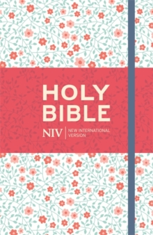 NIV Thinline Floral Cloth Bible, Hardback Book
