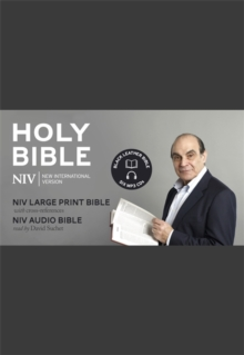 NIV David Suchet Audio and Large Print Leather Bible Gift Edition, Mixed media product Book