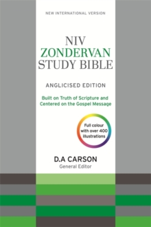 NIV Zondervan Study Bible (Anglicised) : Leather, Hardback Book