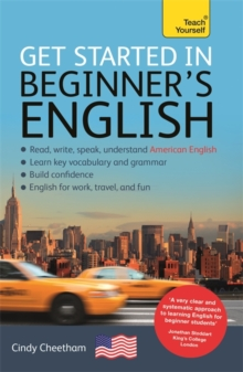 Beginner's English (Learn AMERICAN English as a Foreign Language) : A short four-skill foundation course in American EFL/ESL, Mixed media product Book