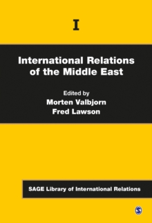 International Relations of the Middle East, Hardback Book
