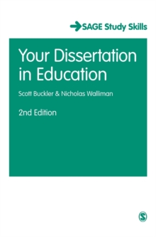 Your Dissertation in Education, Hardback Book
