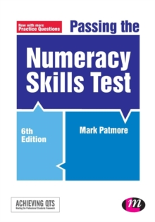 Passing the Numeracy Skills Test, Paperback Book