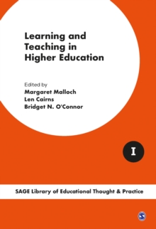 Learning and Teaching in Higher Education, Hardback Book