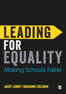 Leading for Equality : Making Schools Fairer, Hardback Book
