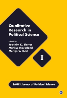 Qualitative Research in Political Science, Hardback Book