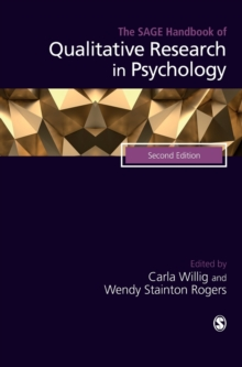 The SAGE Handbook of Qualitative Research in Psychology, Hardback Book