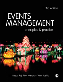 Events Management : Principles and Practice, Hardback Book