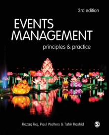 Events Management : Principles and Practice, Paperback Book