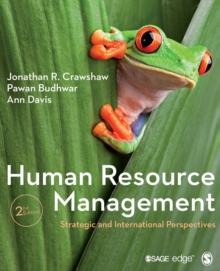 Human Resource Management : Strategic and International Perspectives, Paperback Book