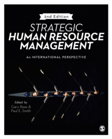 Strategic Human Resource Management : An International Perspective, Paperback Book