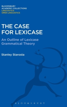 The Case for Lexicase, Hardback Book